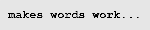 Makes Words Work