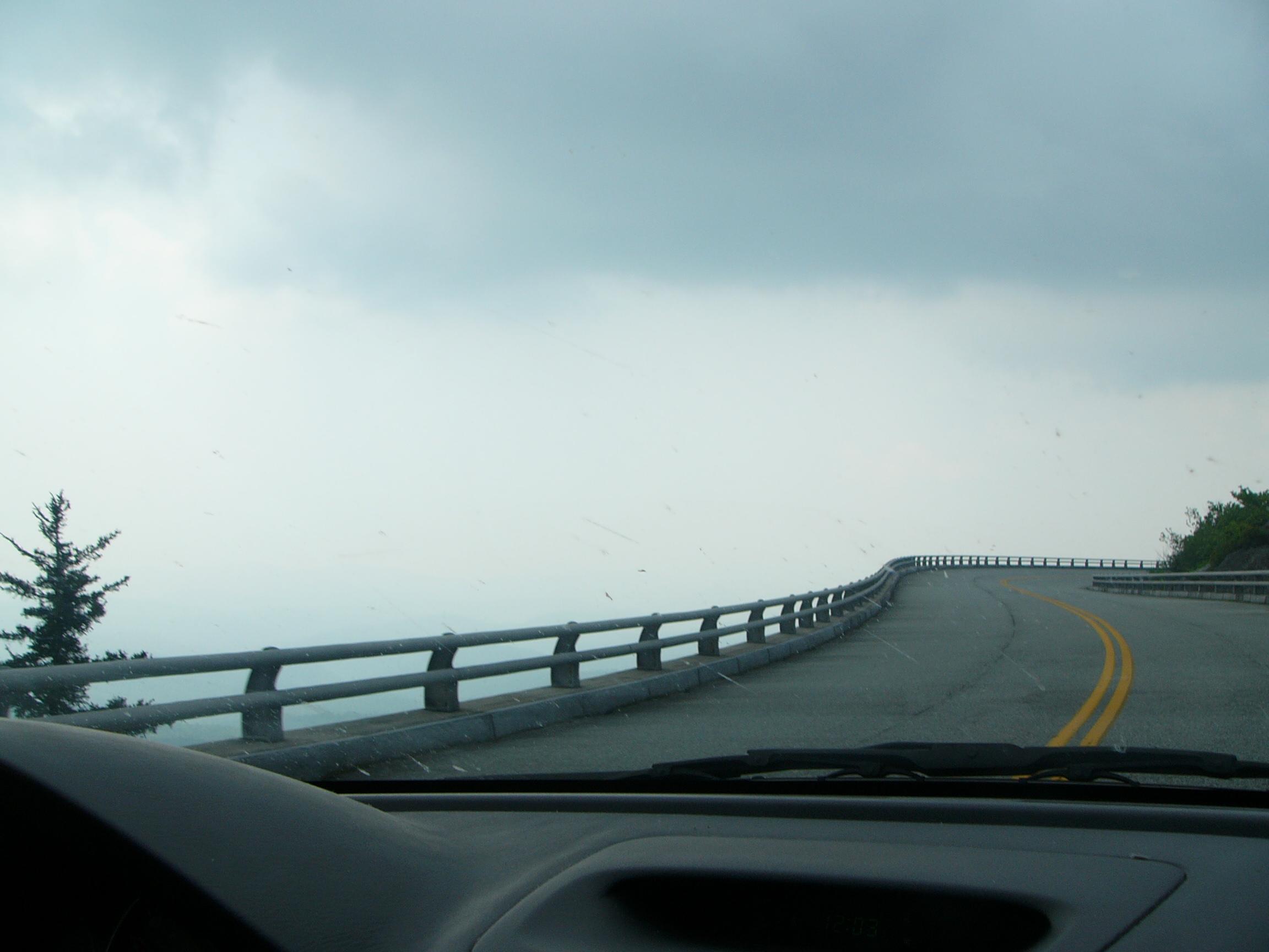The Linn Cove Viaduct on the Blue Ridge Parkway
