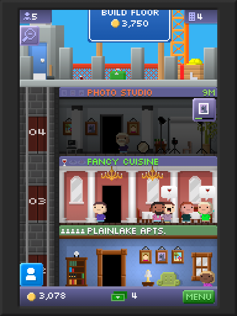 A Tiny Tower