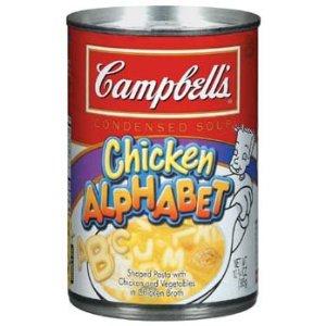 Campbell's Chicken Alphabet Soup