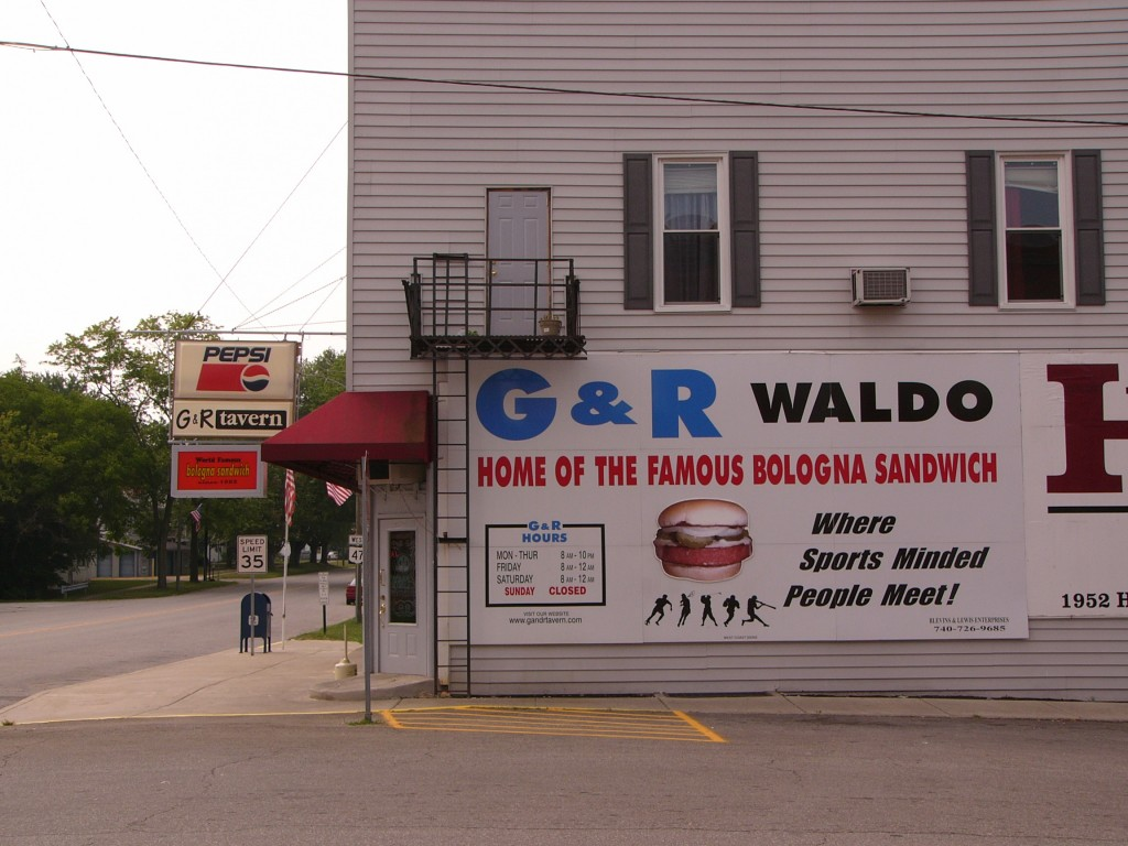 The G&R Tavern in Waldo, Ohio
