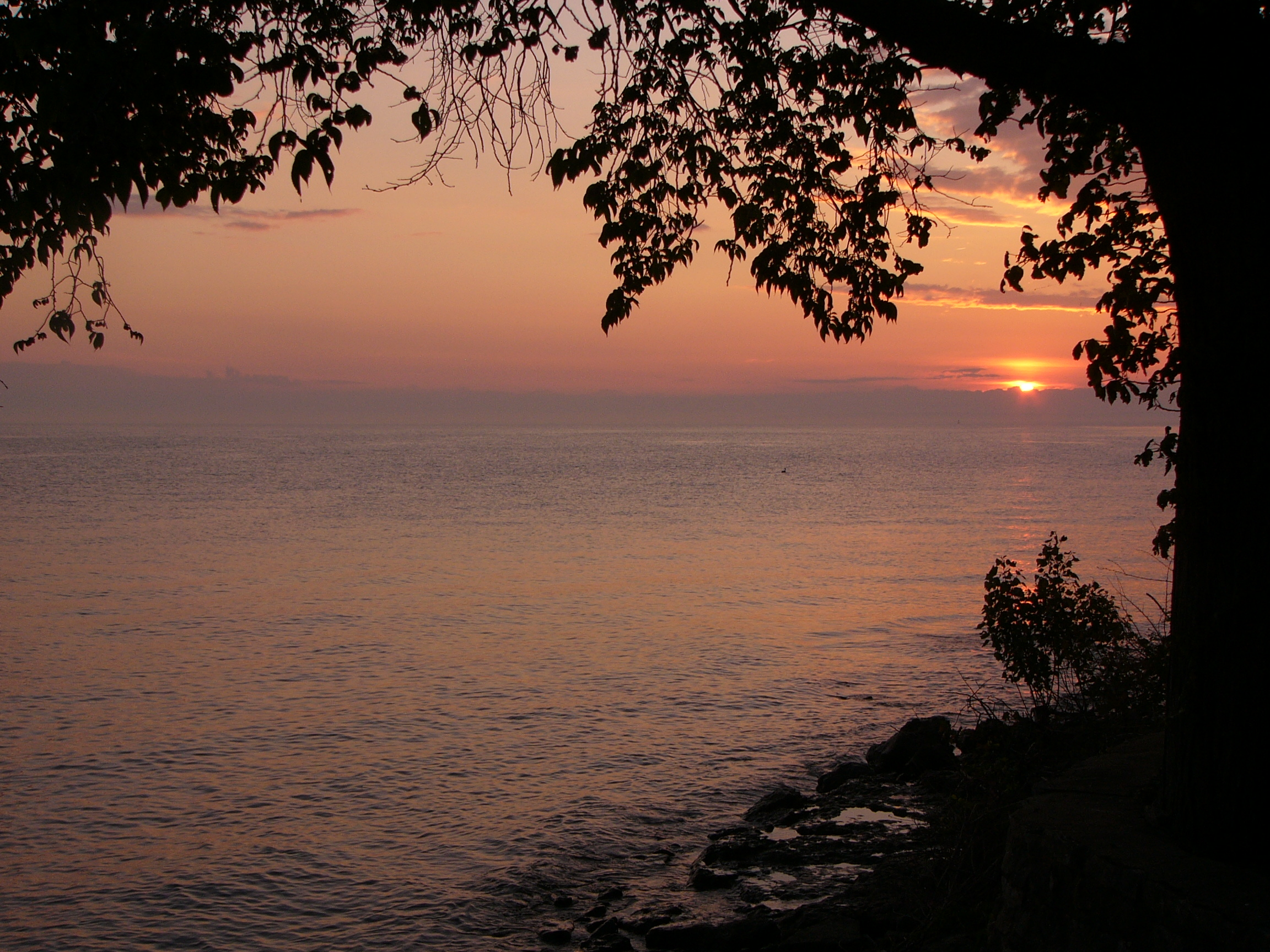 Sunset on Kelleys Island