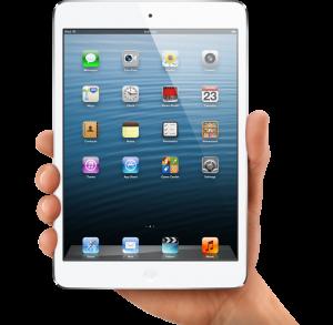The Apple iPad mini