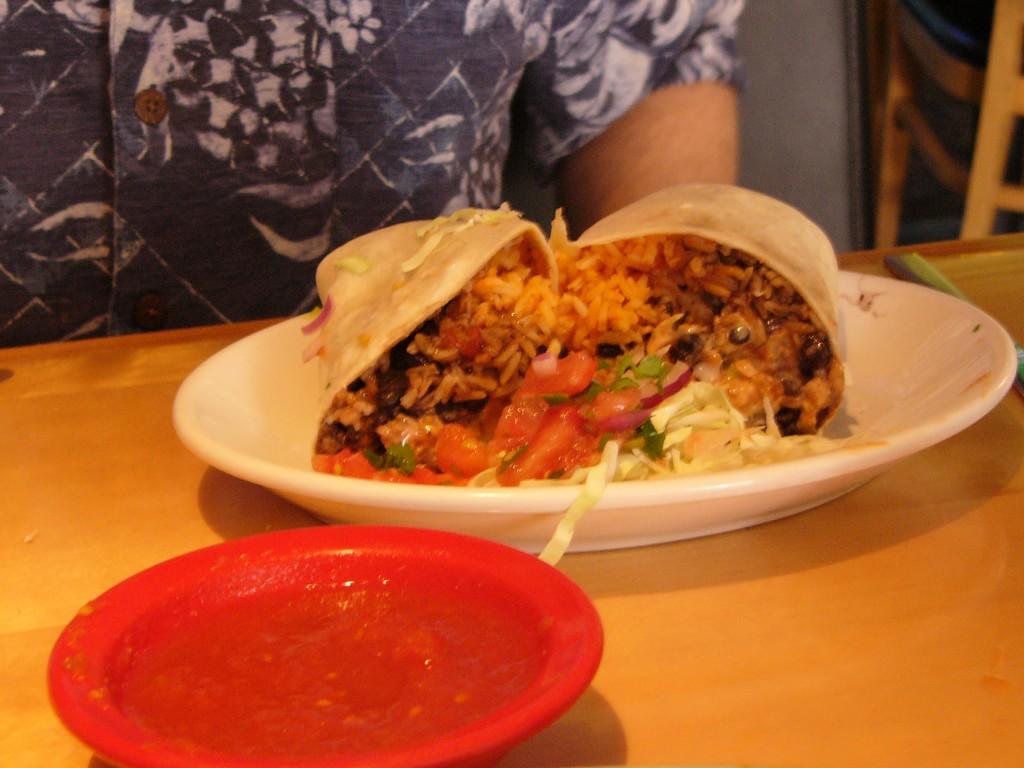 Cucos Restaurant Burrito