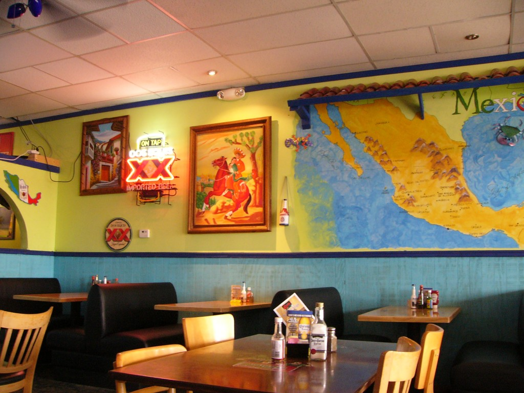 The Interior at Cuco's Taqueria