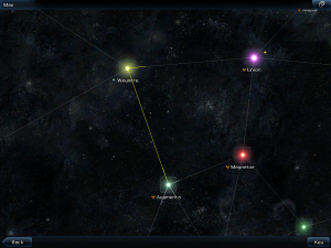 Galaxy on Fire 2 HD Map Screenshot