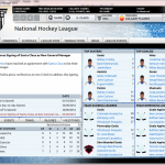 Franchishe Hockey Manager Screenshot