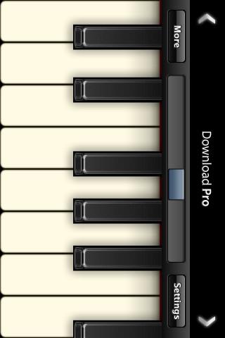 Virtuoso Piano Free 2 Screenshot