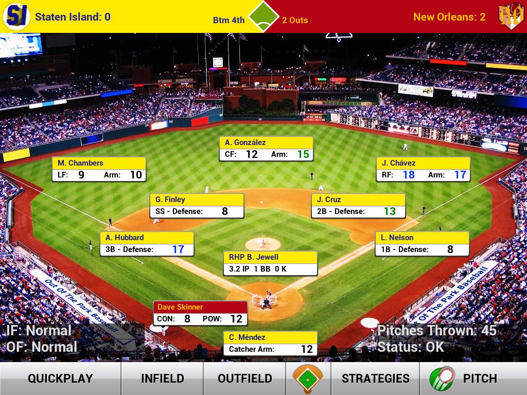 iOOTP 2013 iPad Screenshot