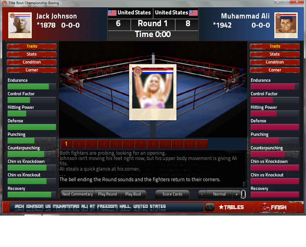 Title Bout Screenshot 2