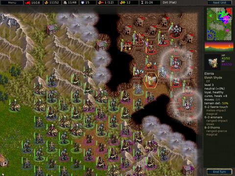 Battle for Wesnoth HD Screenshot