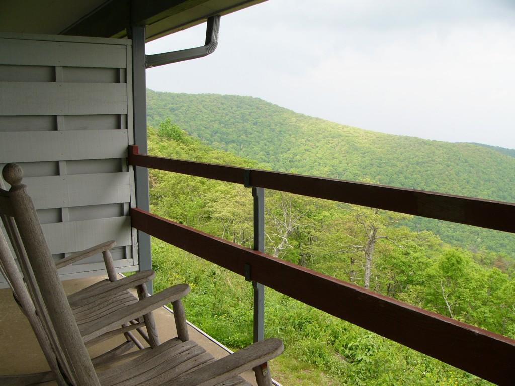 Pisgah Inn Balcony View