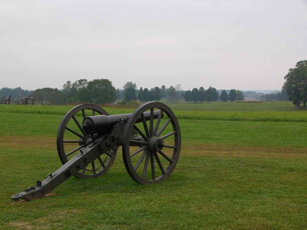 Cannon at Manassas