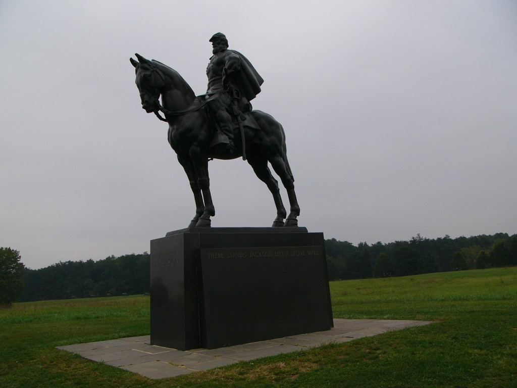 Stonewall Jackson at Manassas